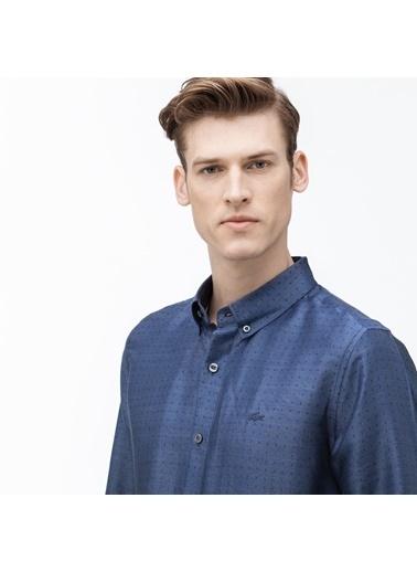 Lacoste Erkek Slim Fit Gömlek CH0015.15L Lacivert